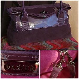 DANIER Suede / Pantent Bag